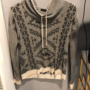 Buckle Aztec sweater